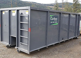 Central Cariboo Disposal offers a variety of sizes of waste bin rentals.