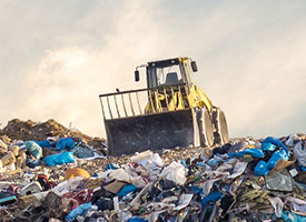 View list of area landfills, transfer stations and recycling depots.